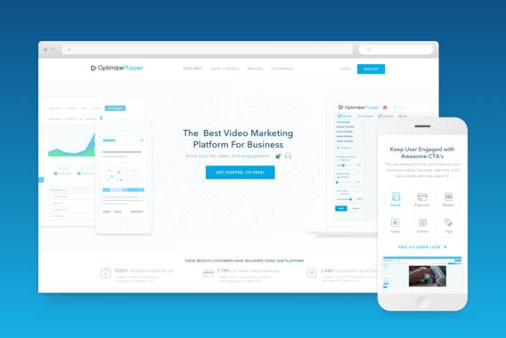 Video Marketing Automation Website Design