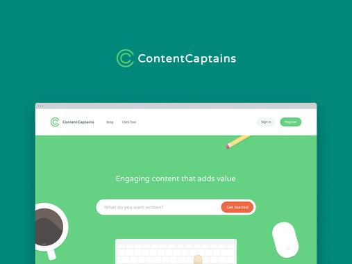 ContentCaptains – High Quality Content Provider