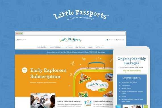 Little Passports Website