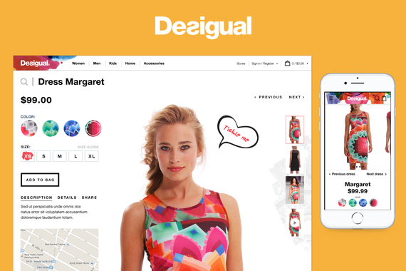 Desigual Global Site
