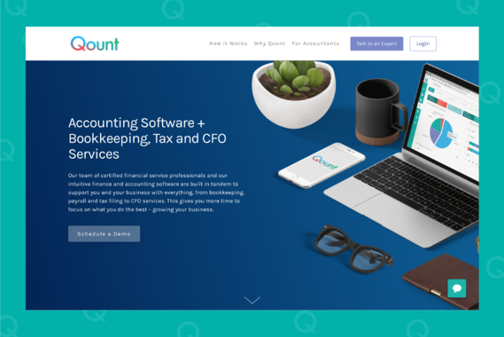 Qount - Accounting Web Application
