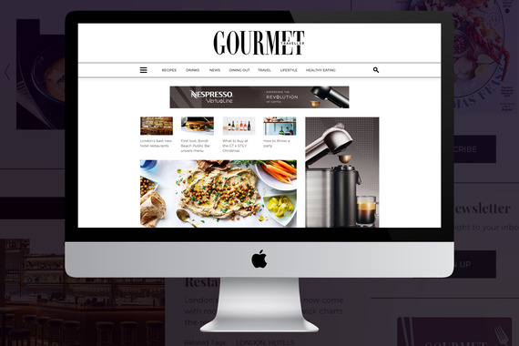 Gourmet Traveller Website Design