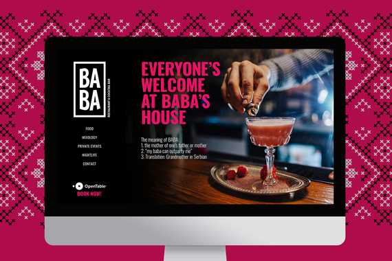 BABA Brand and Web Design