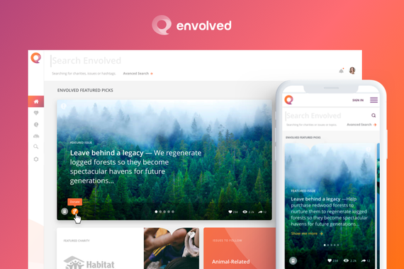 Envolved Charitable Giving Platform