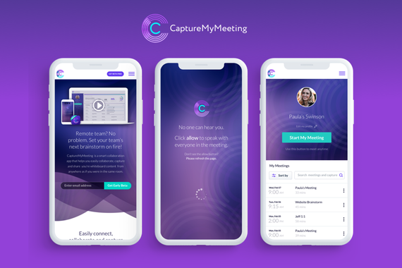CaptureMyMeeting App Design