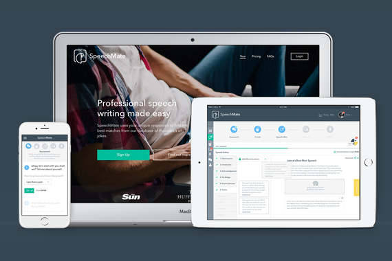 SPEECHMATE | Web App Design