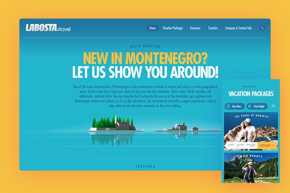 Labosta Travel: Tourist Booking website