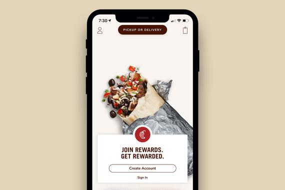 Chipotle iOS App