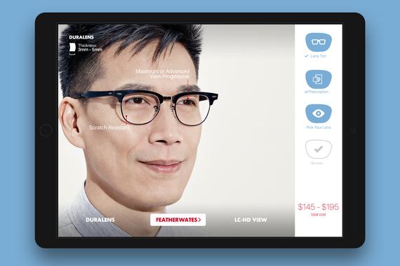 LensCrafters iPad App