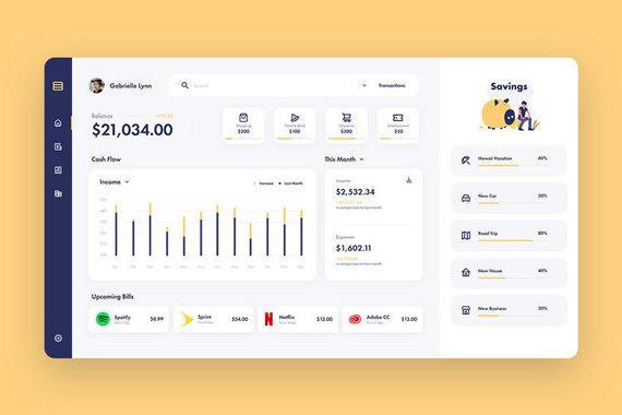 Syndash Finance App