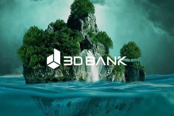 3D Bank Website UI UX