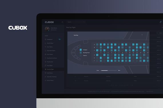 CUBOX Web Admin Dashboard