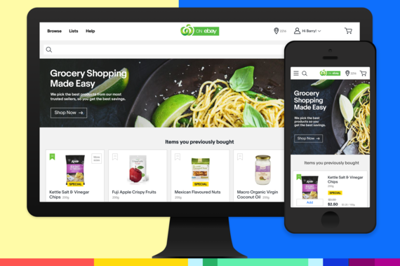 eBay Australia - Grocery Experience