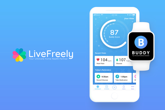 Health App - BUDDY by LiveFreely