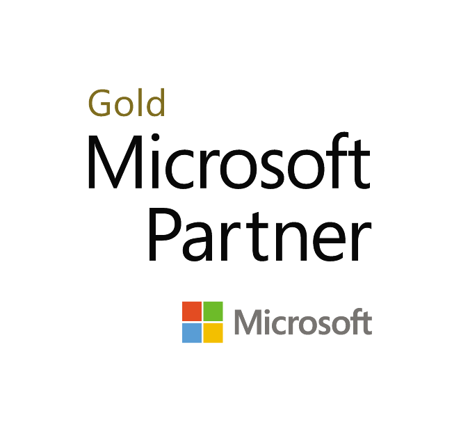 Microsoft Gold Partner badge.