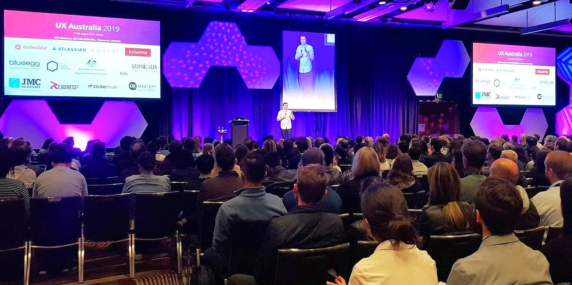 UX Australia is one of the best UX conferences
