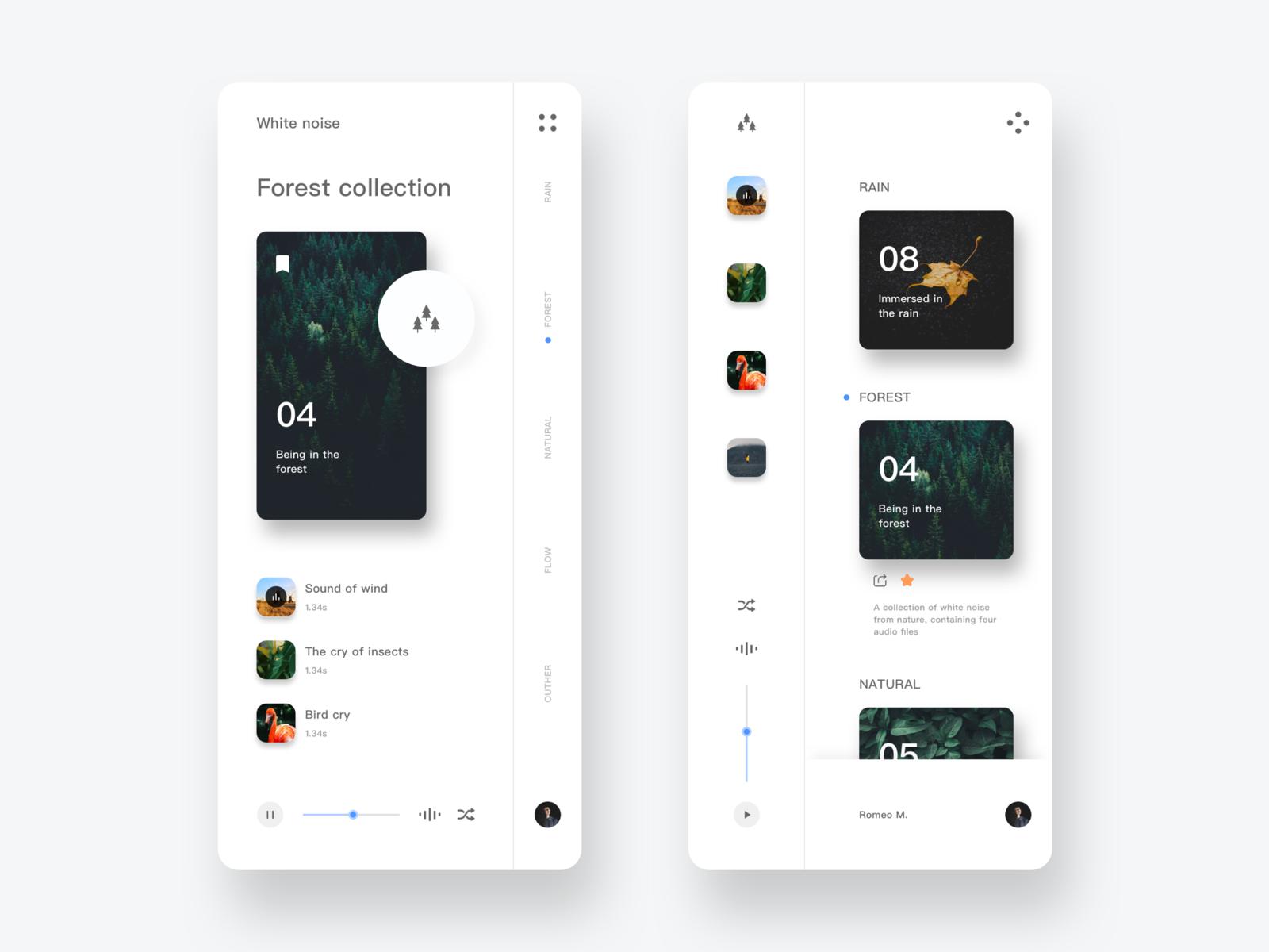 App design trends include simple UI designs
