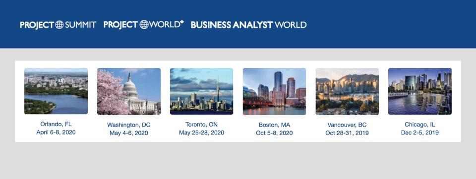 Project Summit Business Analyst World