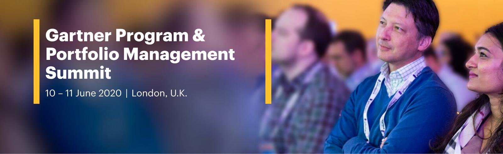 Gartner Program & Portfolio Management Summit