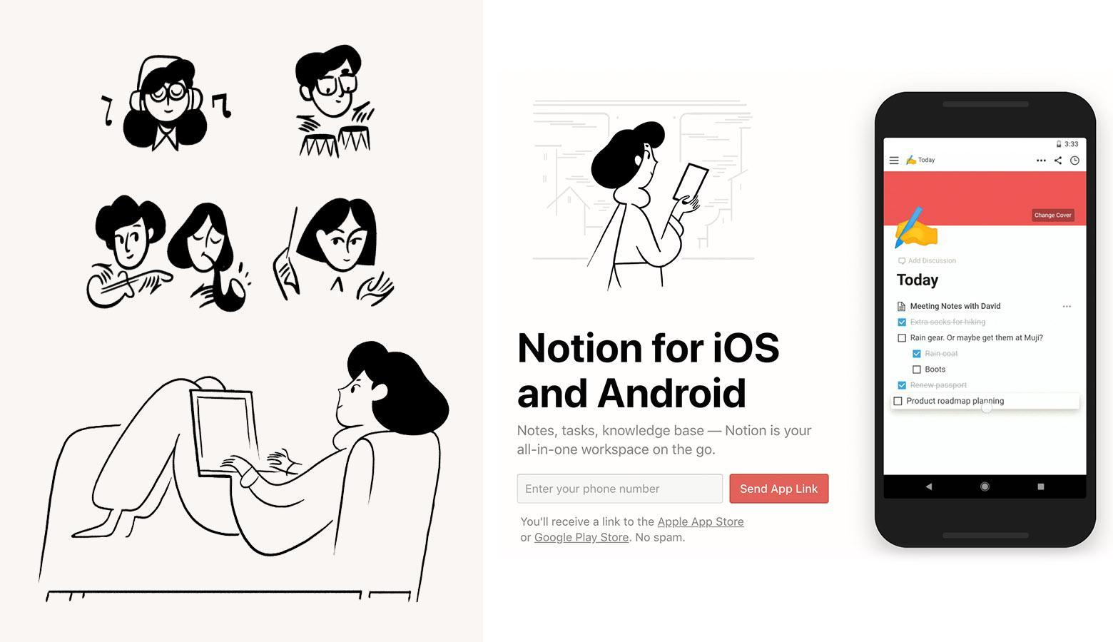 Web illustration styles