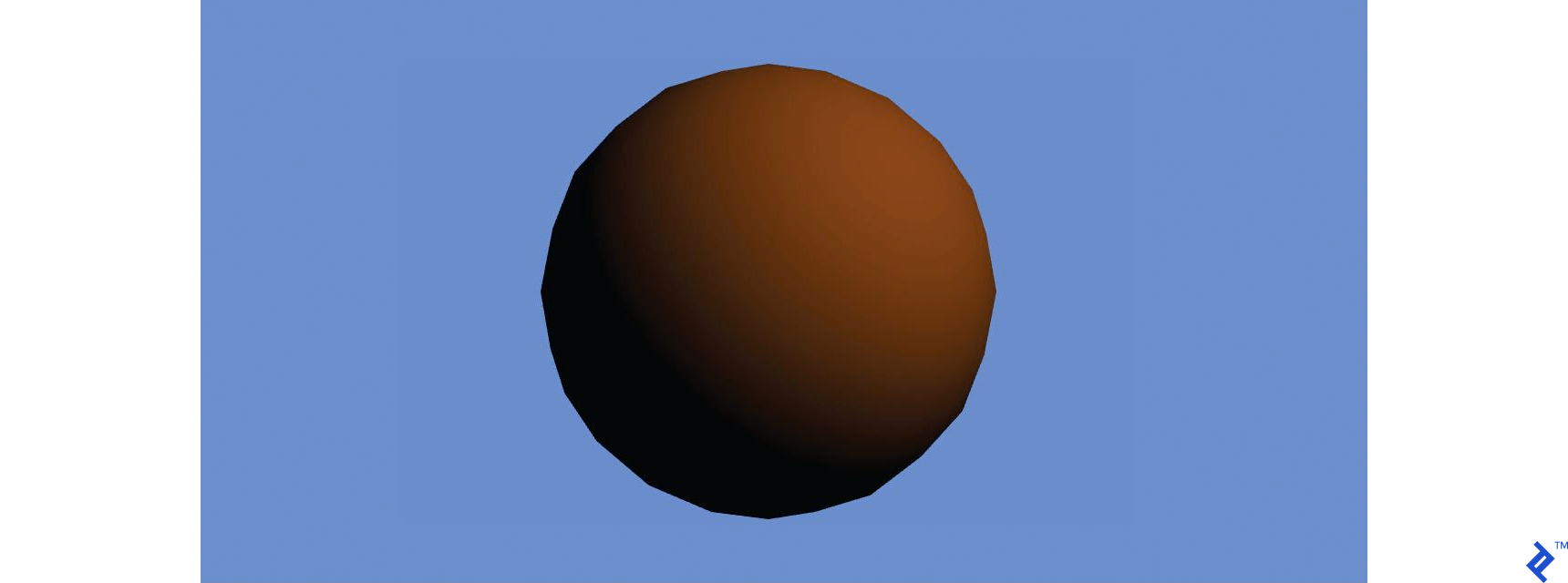Brown object with sunlight