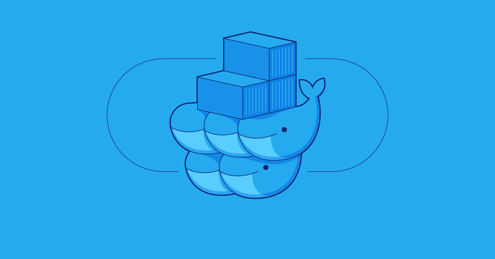 Docker Swarm mode logo
