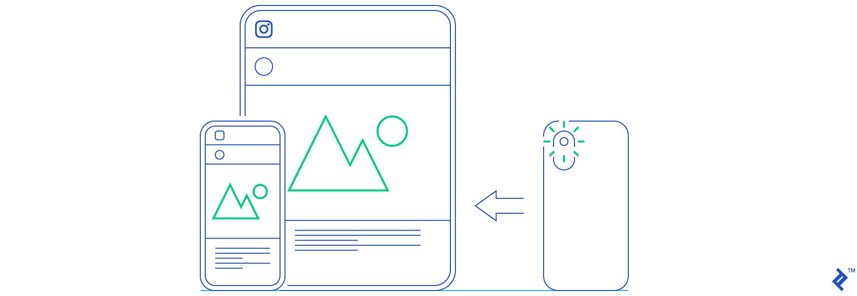 Instagram API illustration
