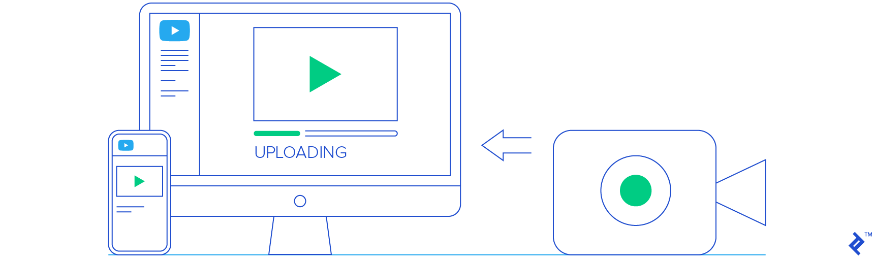 YouTube API illustration