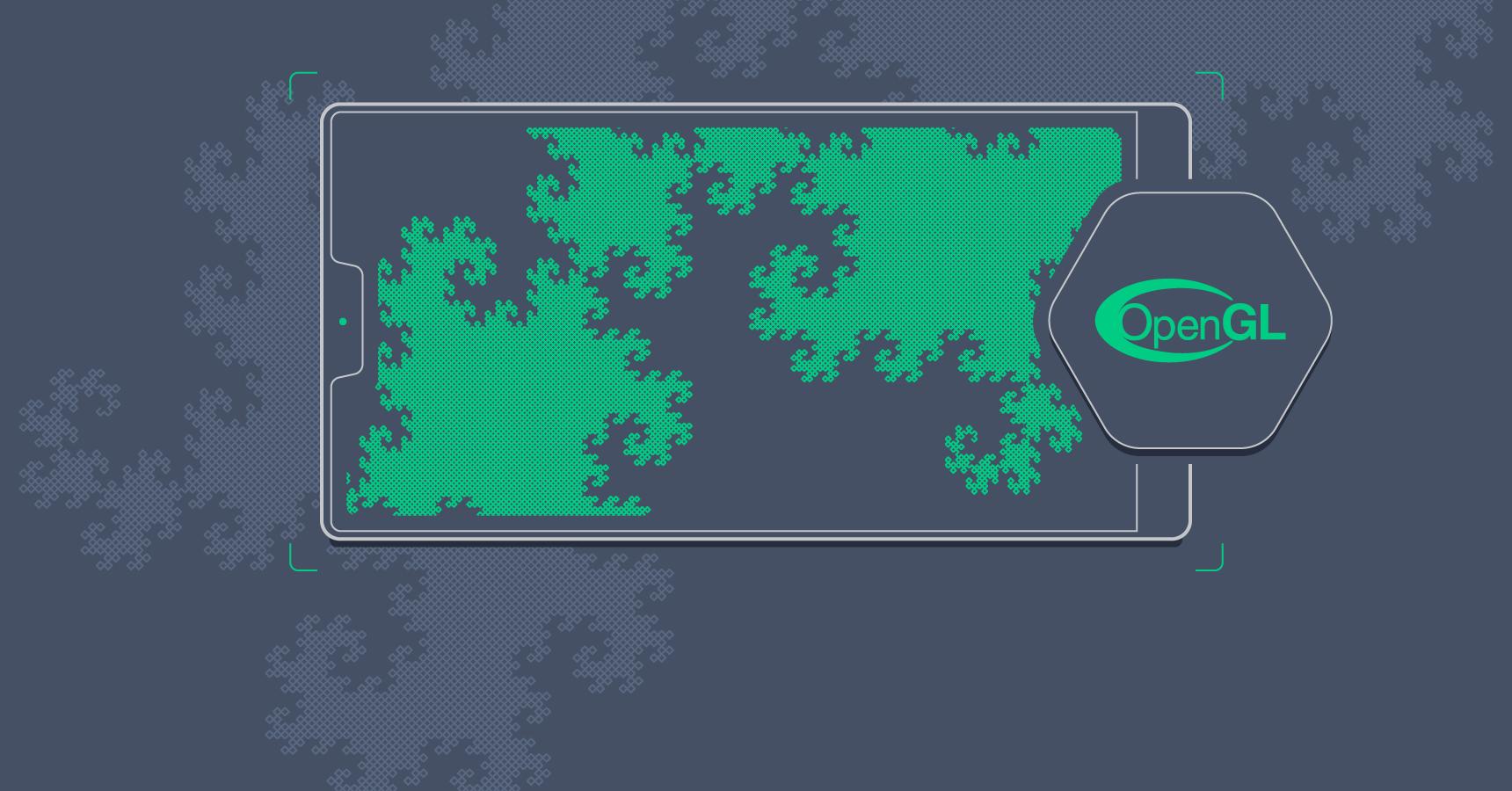 OpenGL and Mandelbrot set generator