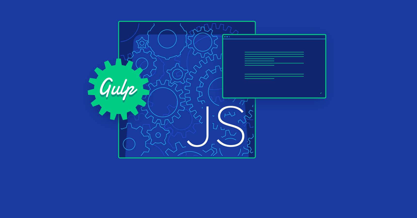 javascript automation with Gulp