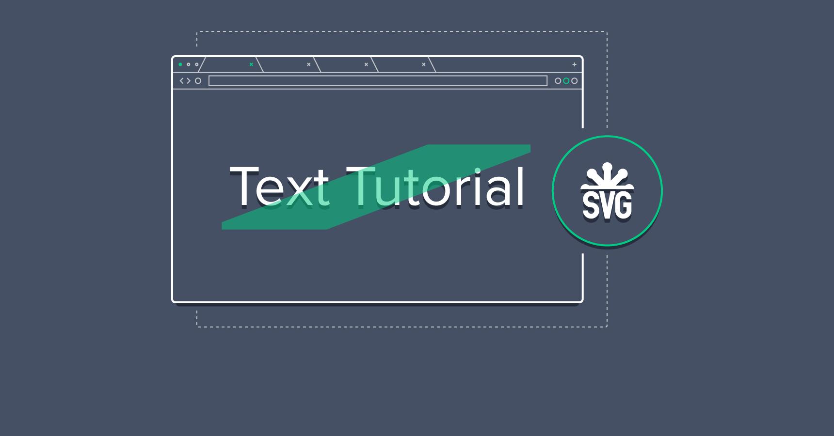 SVG Text Tutorial - text annotation