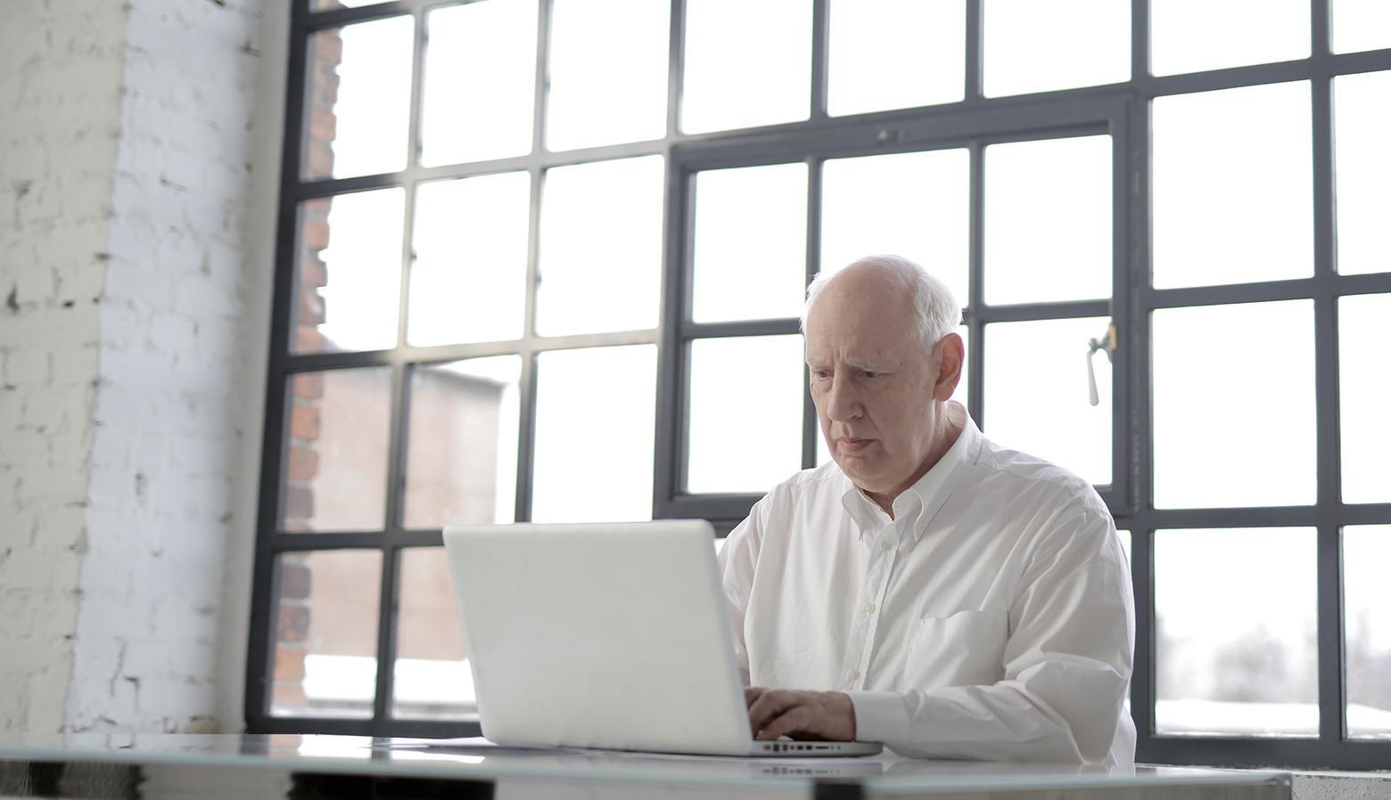 Designer working remotely