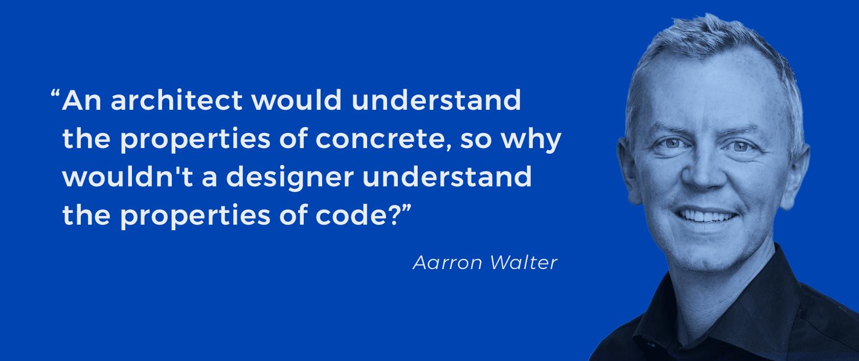 About designer and developer collaboration.