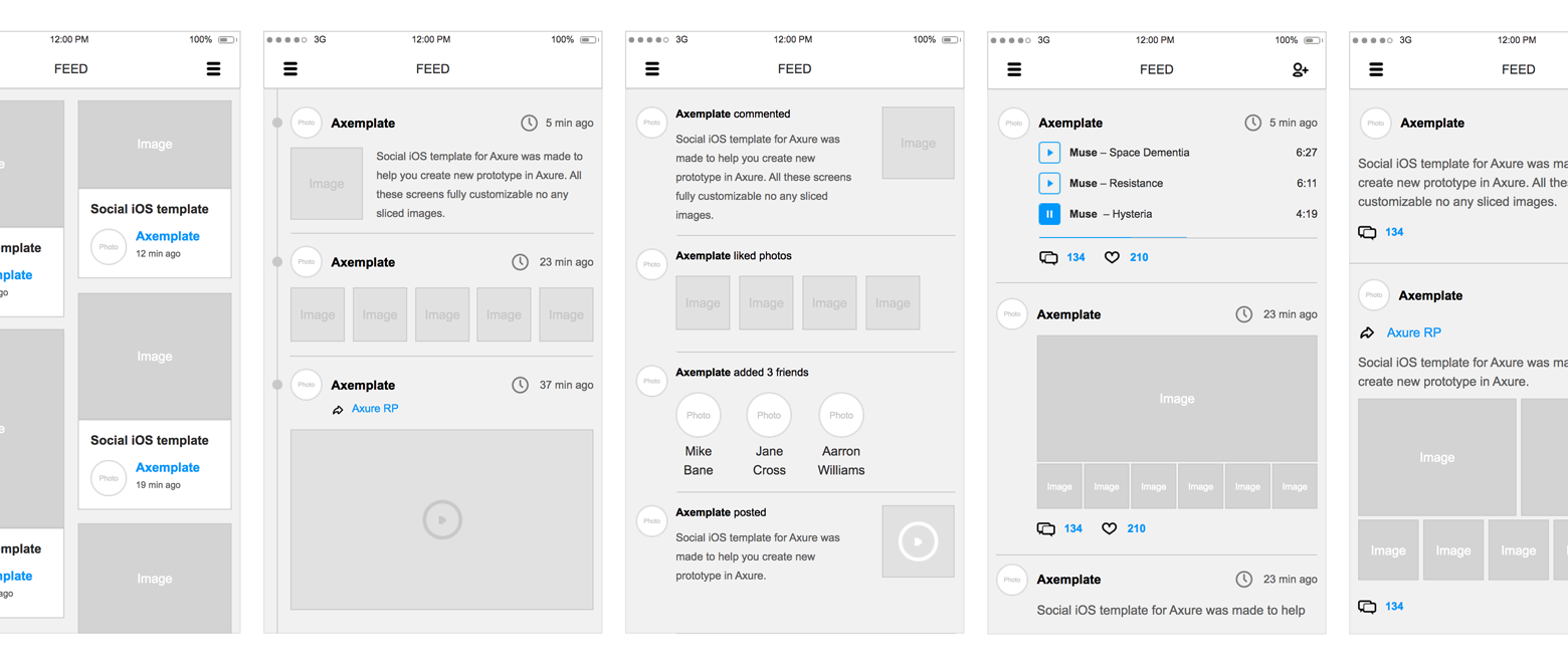 Axure features built-in widgets and wireframing tools