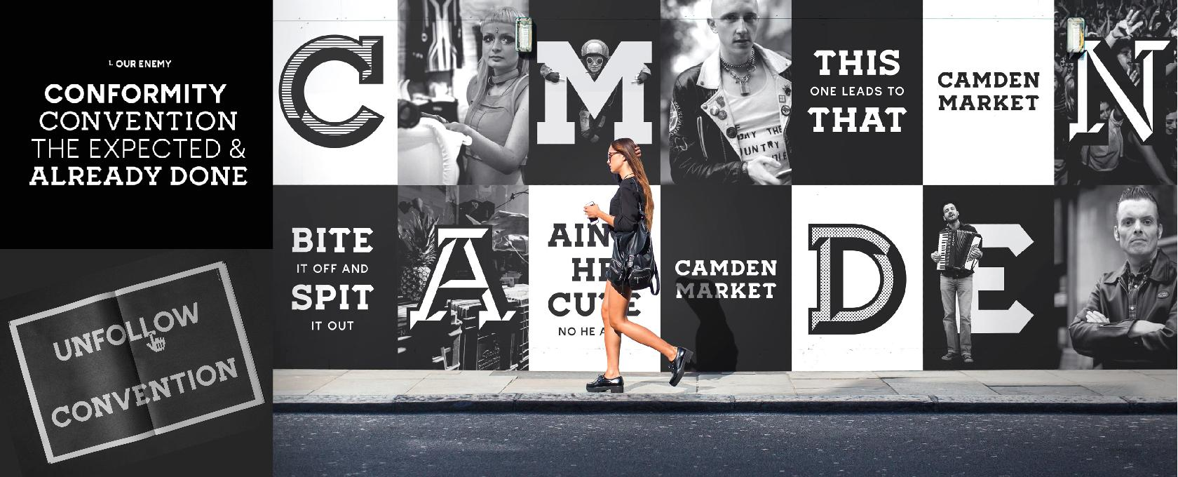 Camden Market's successful rebranding reflects its community.