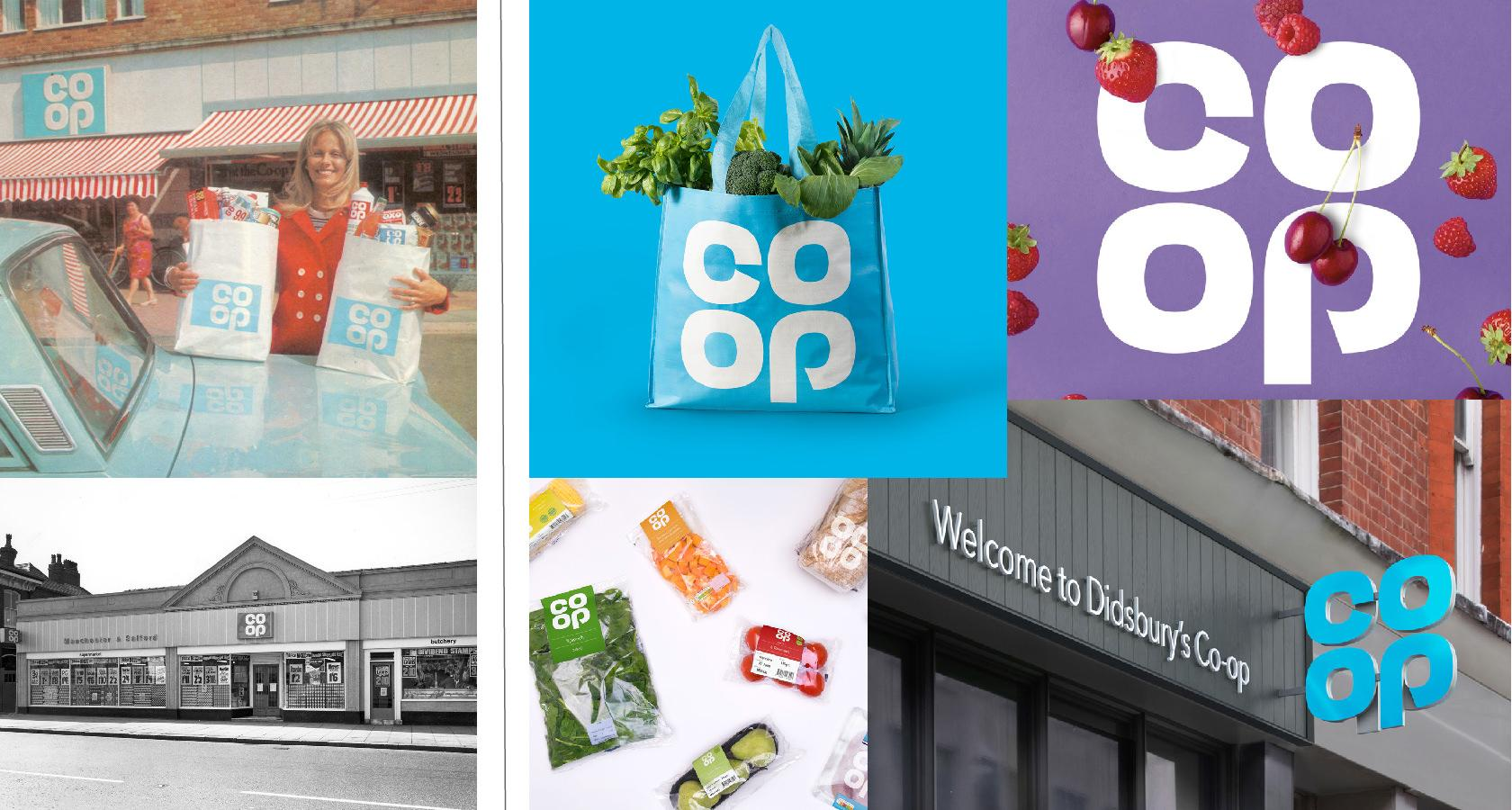 Co-op's rebranding strategy included reviving its past.