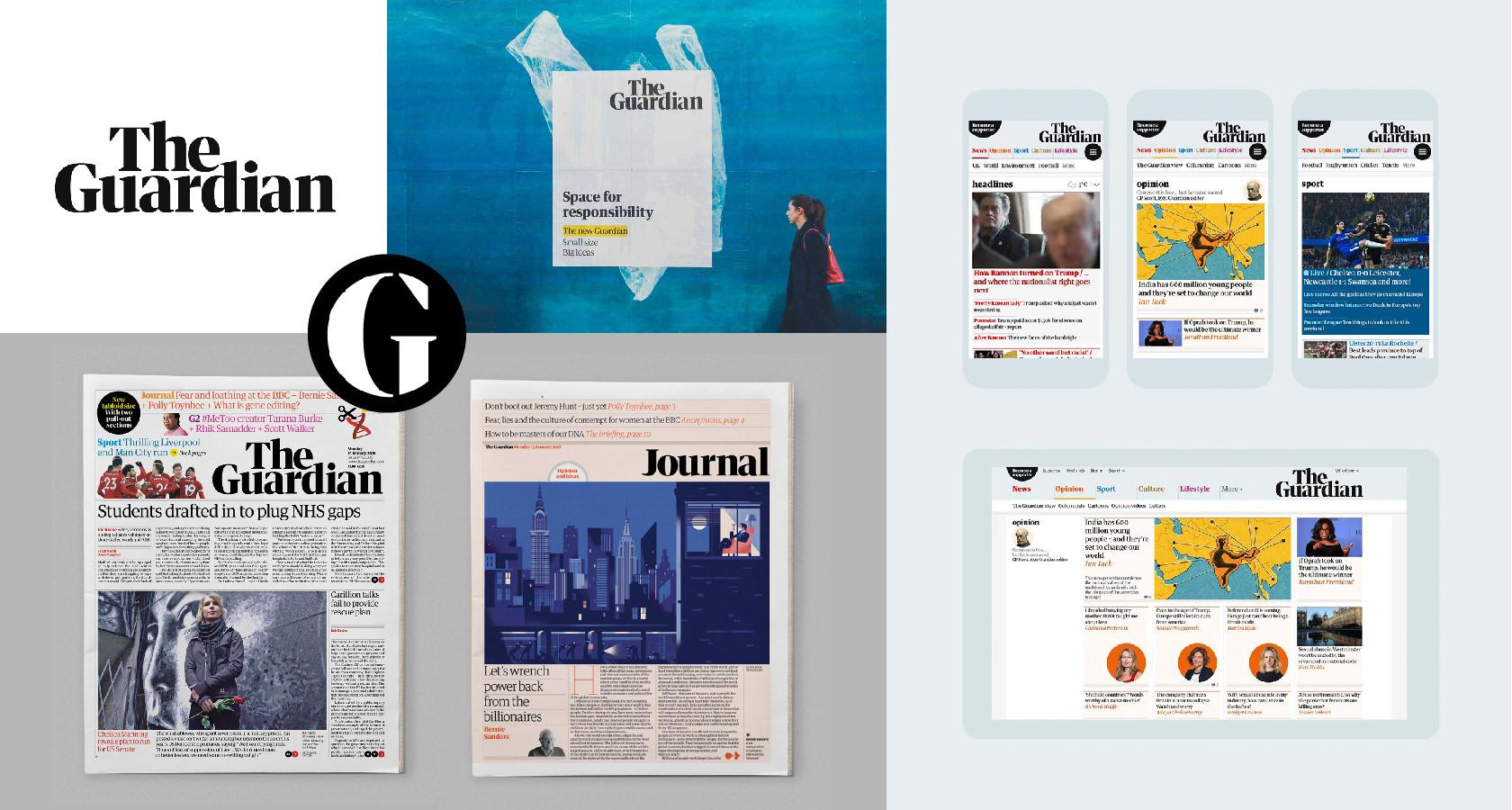 The Guardian's rebranding steps included assessing the brand experience.
