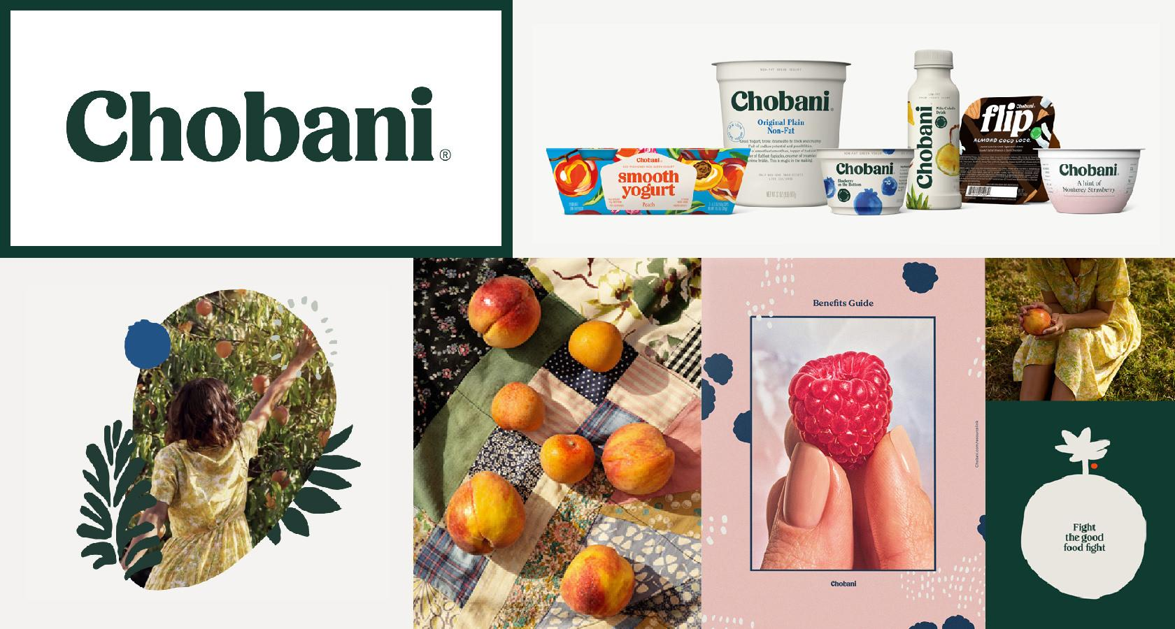 Chobani's rebranding proposal mapped out their future.