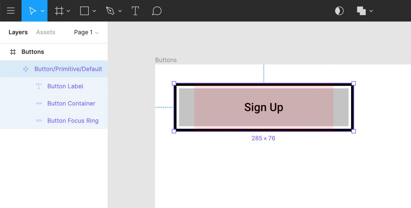 Figma design tool