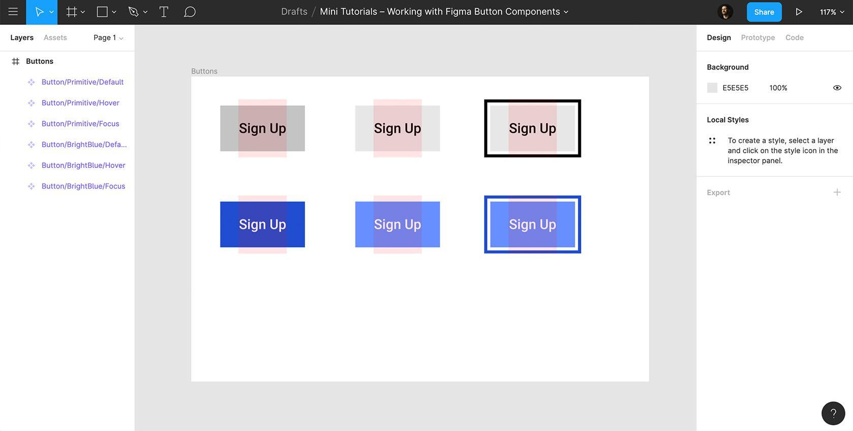 Figma web design
