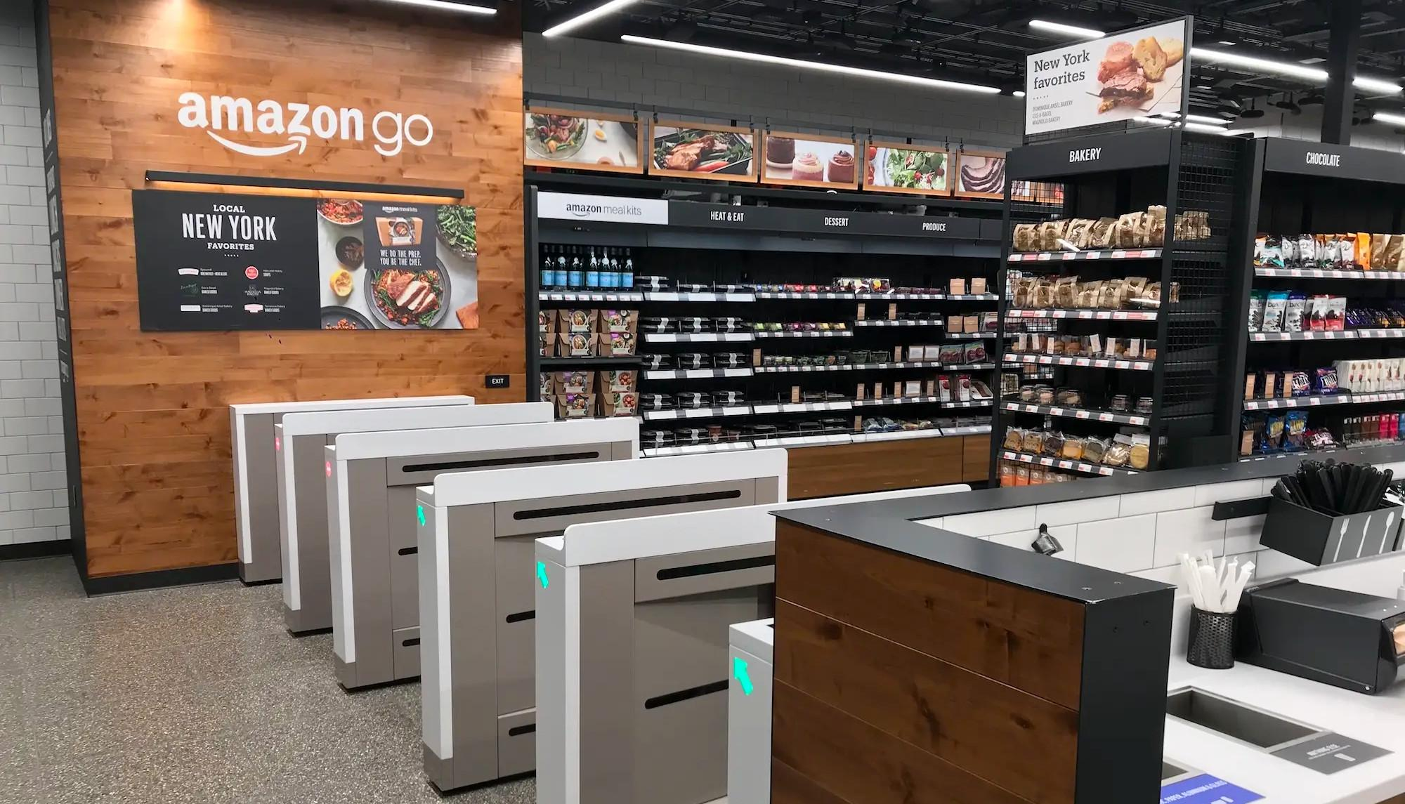 Amazon Go Grocery is an example of design thinking in business