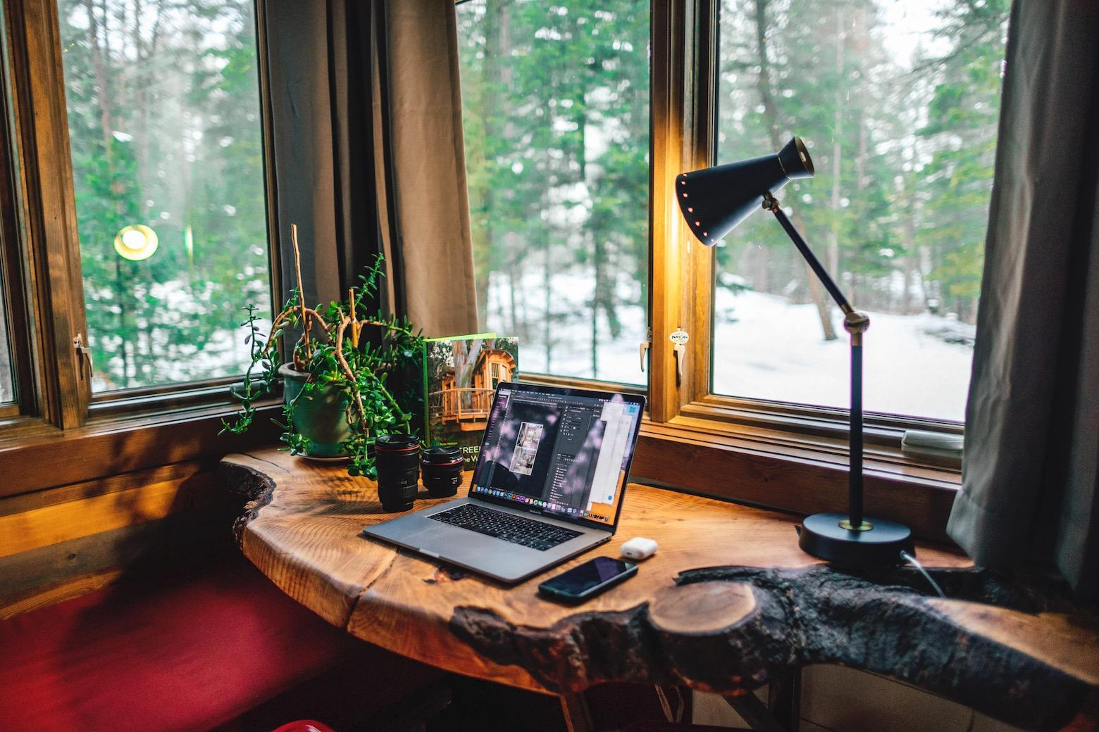 Working from home tips: home offices don't have to resemble a cubicle