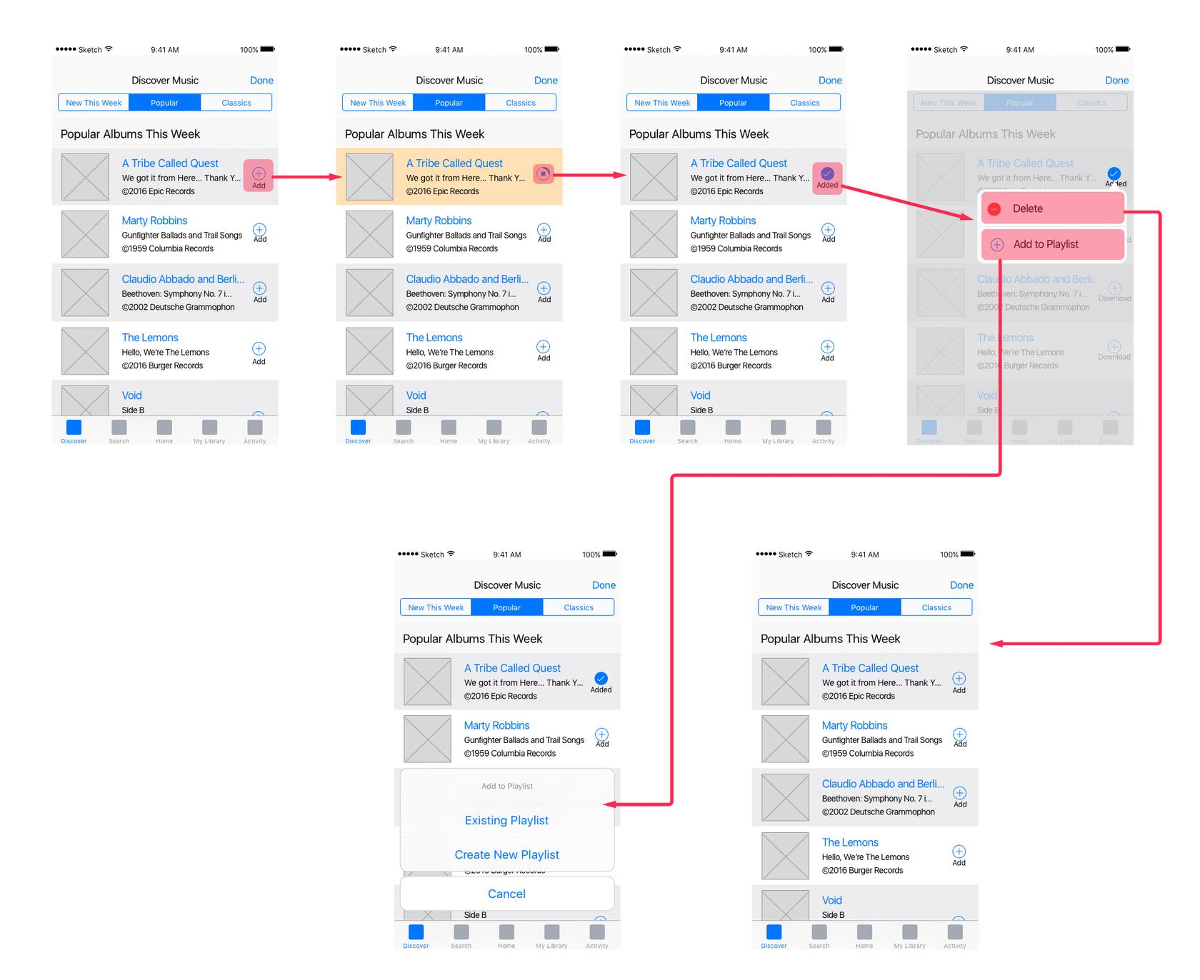 Wireflows are a type of UX wireframe that includes a flowchart.
