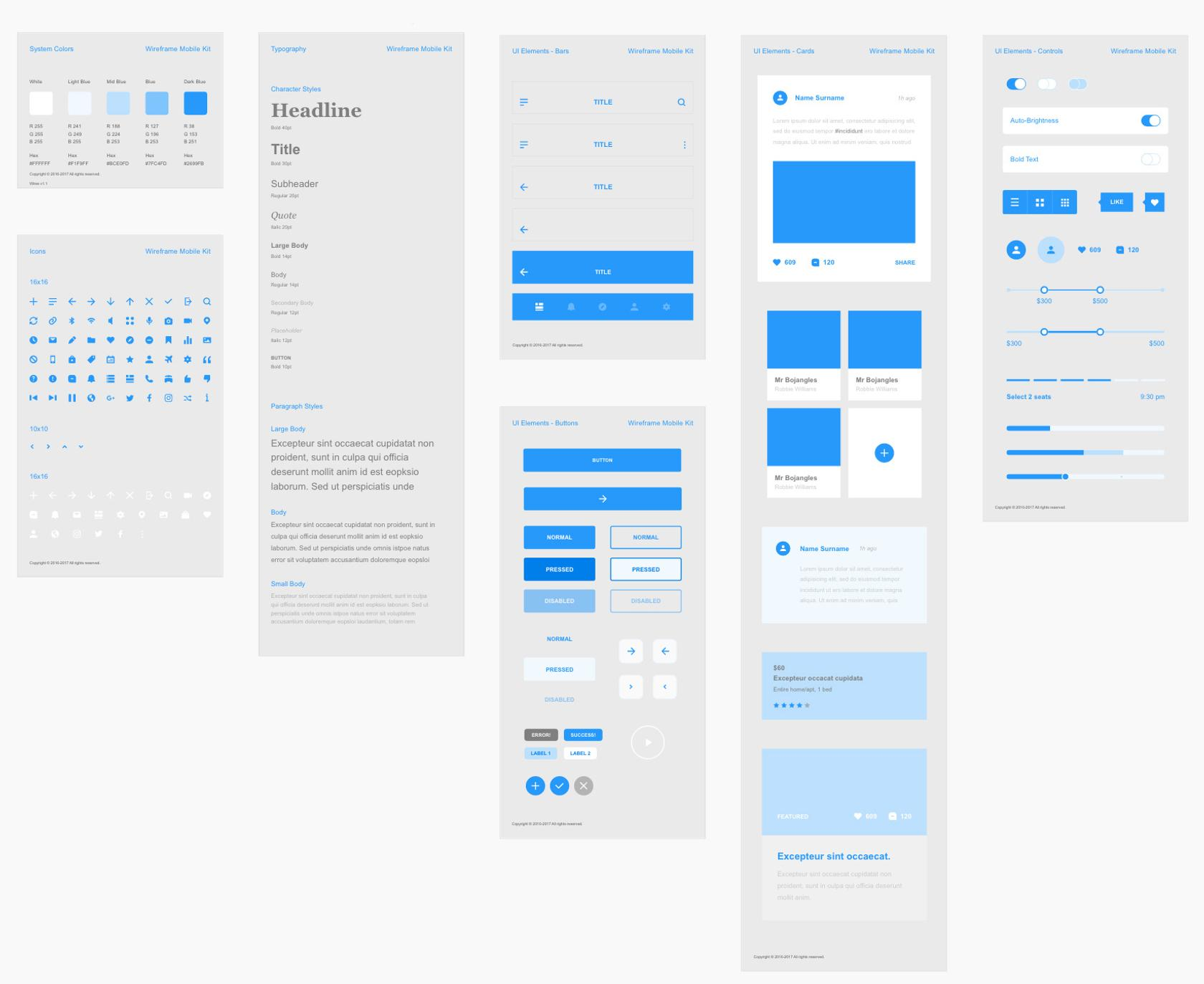 Adobe XD is a top wireframe design tool with advanced functionality.