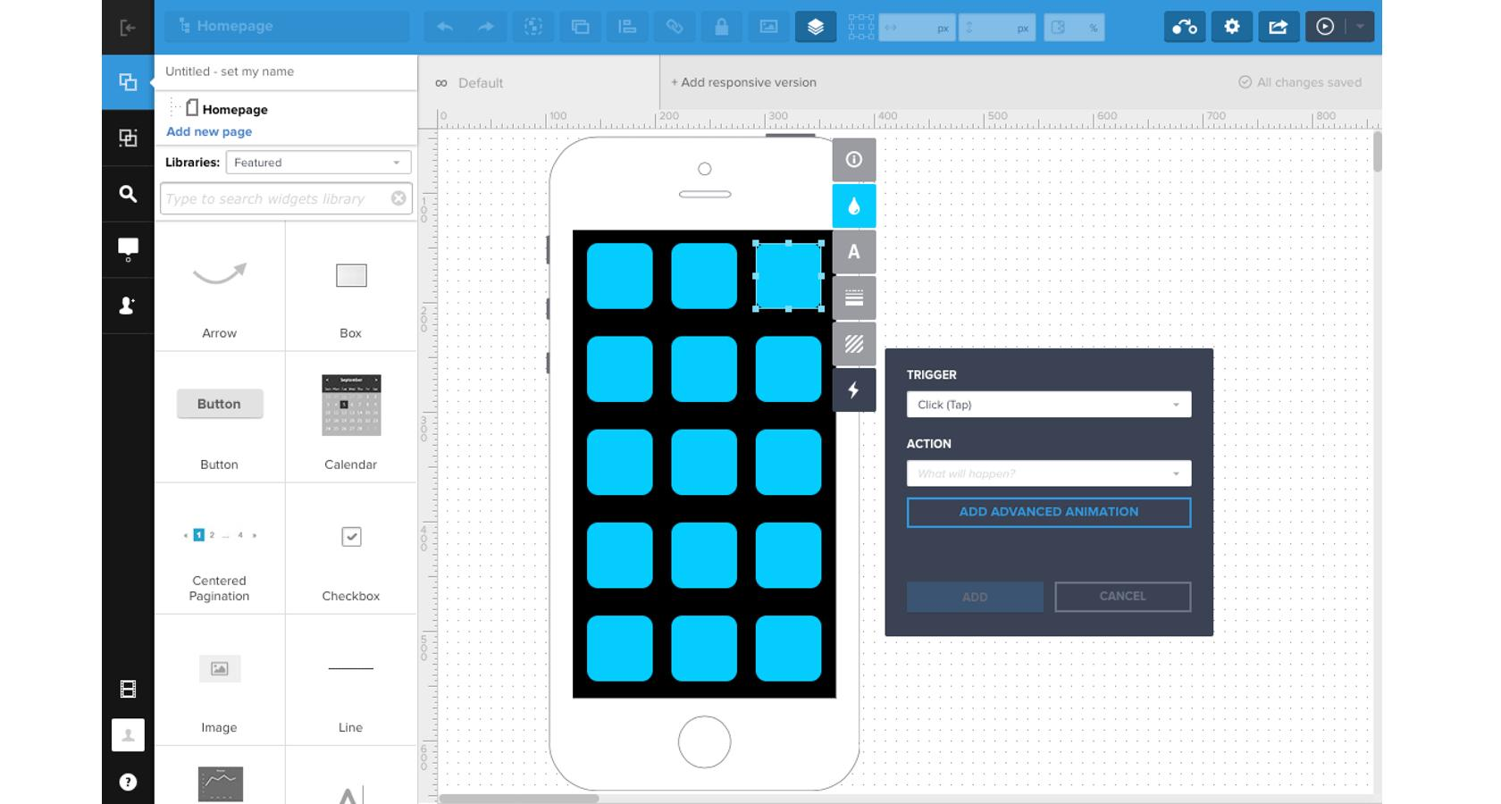 UXPin is a design system with programmatic components and is a high-fidelity wireframe tool.