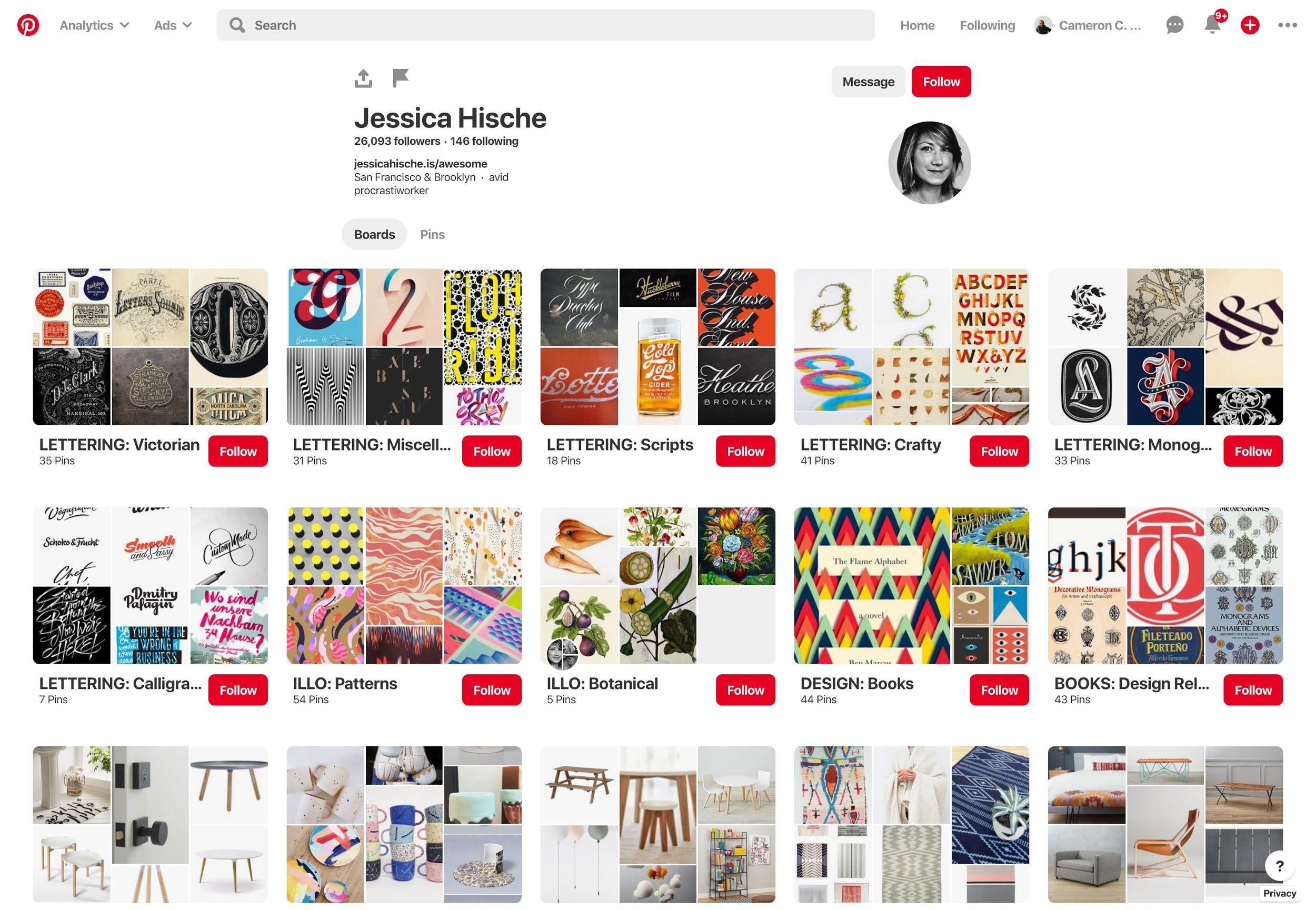 Pinterest design ideas.