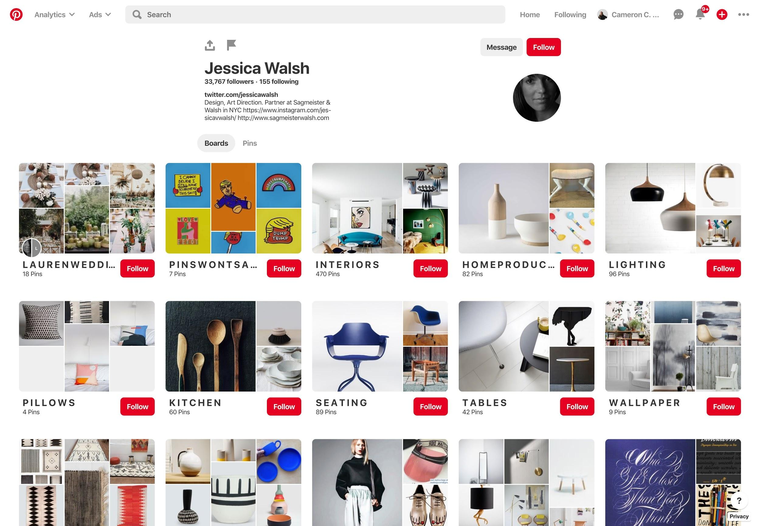 Pinterest for graphic designers.