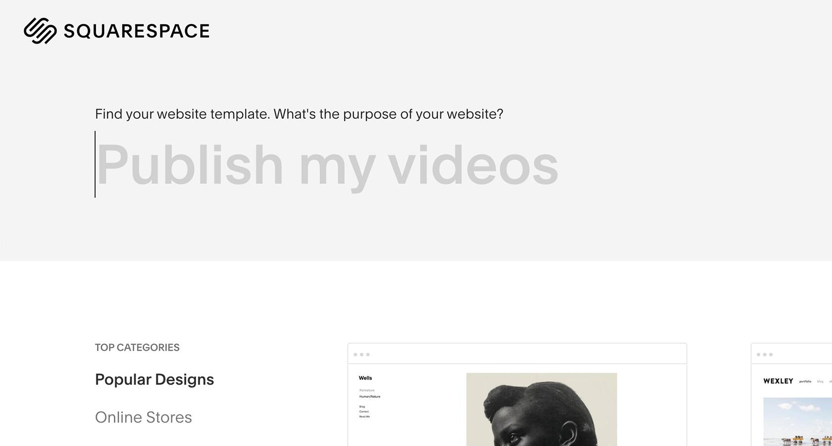 Microcopy on Squarespace.