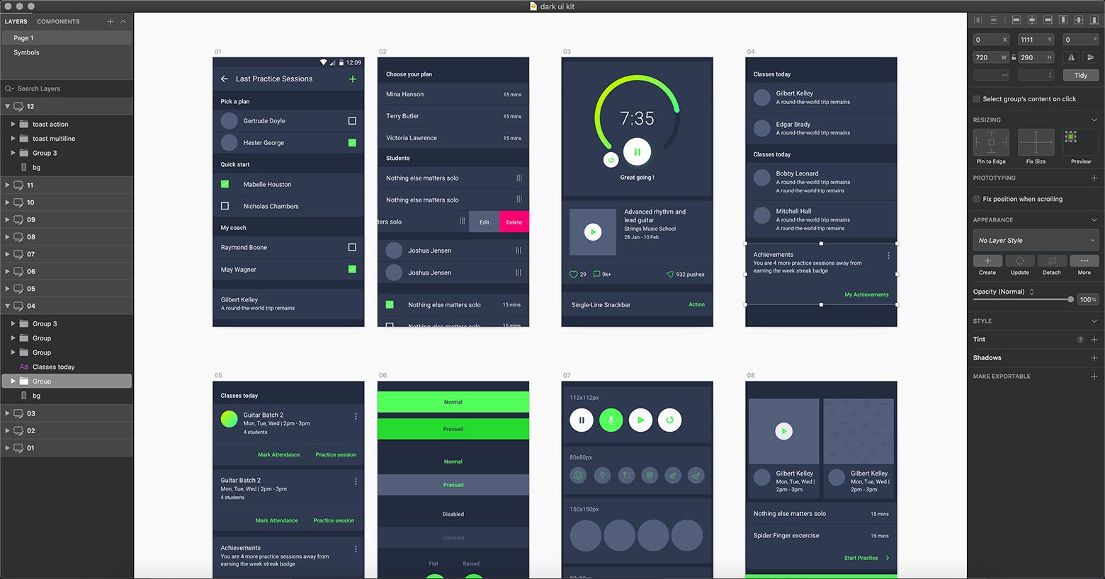 Sketch vs XD - The Sketch design tool