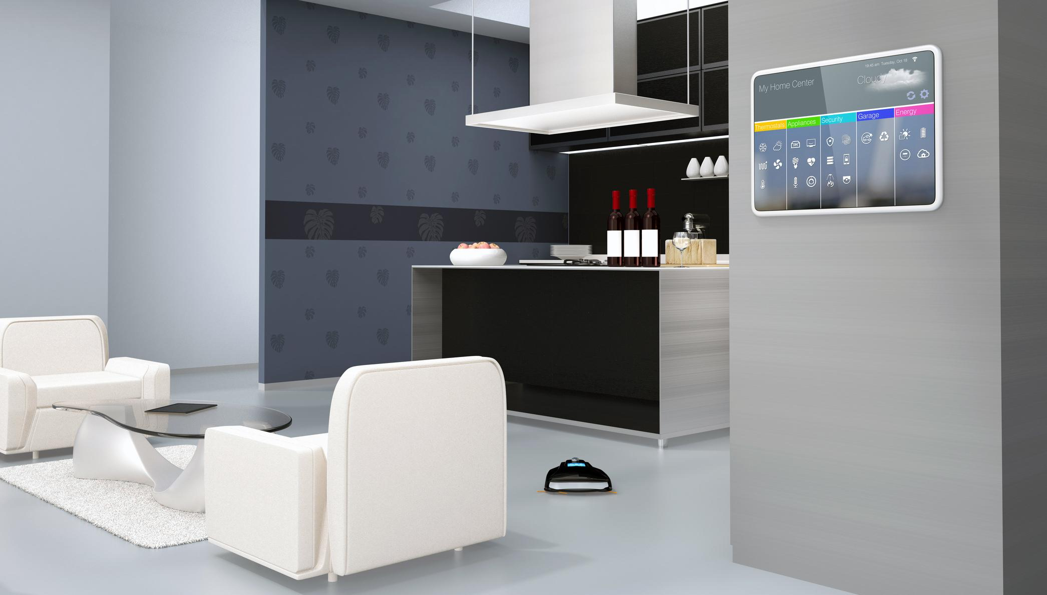 Internet of things smart home.